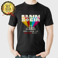 Limited New 16. 21Rammstein1 Europe Stadium Tour 2021 Tour Dates Gildan T Shirt