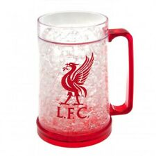 LIVERPOOL FC  OFFICIAL LICENSED FREEZER MUG ICE COLD BEER DRINKING GLASS