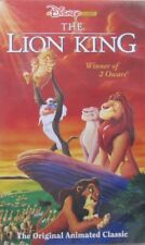 THE LION KING  - VHS (CASSETTE PAARS)