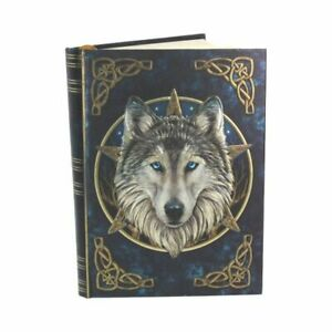 THE WILD ONE Embossed Journal Diary Notebook Wolf Fantasy Nemesis Now - FREE P+P