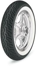 Dunlop 3022-91 Harley-Davidson D402 Tire Front MT90B16 TL - Wide White Wall