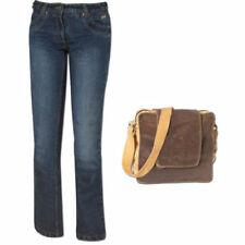 Pantalones de algodón para motoristas de mujer