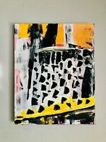 ABSTRACT PAINTING Contemporary Painting on Canvas Fine Art Gallery Wrap 16x20
