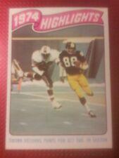 1975 Topps Football 459 Lynn Swann HOF RC  Pittsburgh Steelers