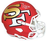 Nick Bosa Autographed/Signed San Francisco 49ers AMP Replica Helmet BAS 25861