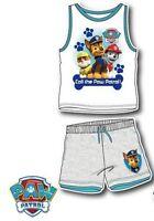 Boys Girls Kids Disney 2 Piece Summer Set T-shirt Top & Shorts Age 3-10 Years