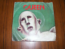 """Queen   We Are The Champions   Original 1st  Issue / We Will Rock You 7"""" Vinyl"""