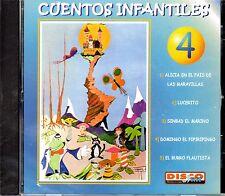 CUENTOS INFANTILES VOL.4 - EN ESPAÑOL  - CD