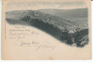 Ansichtskarte Tschechoslowakei  Gruss aus Katharinaberg Erzgebirge