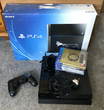 Sony PlayStation 4 500GB Bundle - Console + 5 Games + Controller