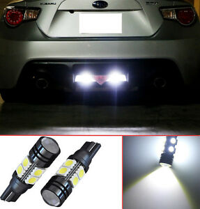 Projector LED Reverse Light Bulbs T15 912 921 906 for Acura MDX (2 pcs)