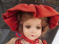 "Vintage 1930's Composition Doll 20"" ""Nancy Lee"" Arranbee All Original? Nice"