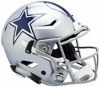 PRESALE Dallas Cowboys Full Size Authentic Speed Flex Helmet Riddell 4/1