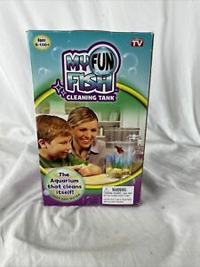 2 My Fun Fish Cleaning Tank Self Cleaning Aquarium 2 For The Price Of 1