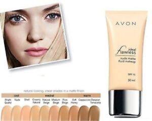 Avon ~ Ideal Flawless Nude Matte Fluid Makeup ~ Cappuccino 30ml