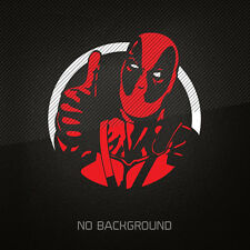 DEADPOOL 2-Color Vinyl Decal Sticker | MARVEL | Batman Iron Man Comics superhero