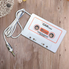 JU_  Audio AUX Car Cassette Tape Adapter Converter 3.5MM For iPhone MP3