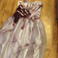 Sexy Halloween HOrror Zombie Corpse Bride Fancy Dress  Costume Ooak Custome Made