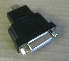 DVI Female to HDMI Male Cable Adapter 24+4 Pin DVI-I / DVI-D Dual Link