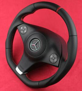 Mercedes Custom Steering Wheel 3spoke Last Facelift R171 W209 W211 R230 W219 AMG