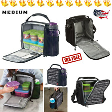 Cooler Insulated Lunch Box Bag Food Storage Containers Kids School Picnic Travel