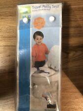 Riduttore Water WC da Viaggio per Bambini/Sedile Pieghevole  (bianco)