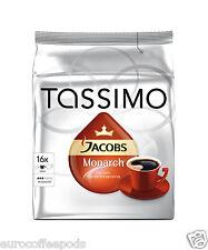 Tassimo Jacobs Monarch caffè confezione da 2, 32 T-Disc/porzioni