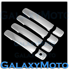 Triple Chrome Plated 4 Door Handle No Smart Hole Cover for 08-13 Nissan Rogue