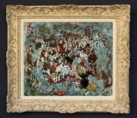 LILY MASSON (1920-2019) Fille du peintre André MASSON // Oeuvre Surréaliste (17)