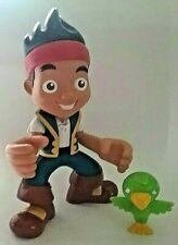 Mattel Disney Talking Jake and the Neverland Pirates 9in Figure With Parrot
