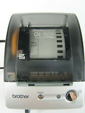 Brother QL-500 P-Touch Thermal Label Printer With Partial Roll No USB Cord