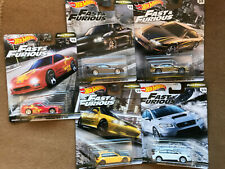 HOT WHEELS FAST & FURIOUS - Set of 5 - / FAST TUNERS