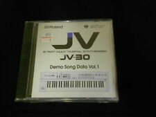 Roland JV-30 Demo Song Data Vol1.  MF2-DD  BRAND NEW SEALED floppy disk