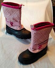 KAMIK Winter Snow Boots w/ Felt Liners Pink & Fuchsia Size 5