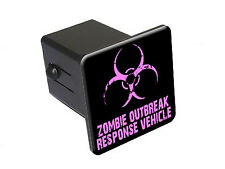Zombie Outbreak Response Vehicle - Pink - Tow Hitch Cover Plug Insert