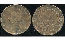 ARGENTINE 2 centavos 1893