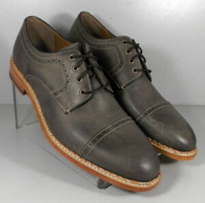 271357 SP50 Men's Shoes Size 9 M Taupe Leather Lace Up Johnston & Murphy