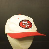 San Francisco 49ers Vintage Snapback Hat Cap Retro Promo Fram Team NFL