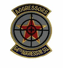 USAF AIR FORCE 64TH AGGRESSOR SQUADRON PATCH OPFOR NELLIS AFB