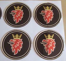 "4 black saab emblem badge ALLOY wheel center hub caps 2 3/8"""