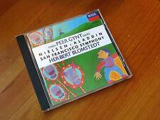 Grieg Peer Gynt Suits Nielsen Aladdin Blomstedt San Francisco Symphony DECCA CD