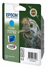 Original Epson T0792 cyan Eule Stylus Foto Photo 1500W PX730WD PX830FWD o.V.