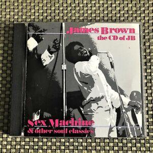 James Brown – CD Of JB (Sex Machine & Other Soul Classics) (1985) Like New, CD