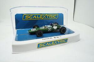 Scalextric C4195 Lotus 25 British GP 1962 Jim Clark 1/32 Slot Car