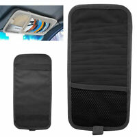 12 Disc Slot Storage Sun Visor CD DVD Holder Card Case Bag Auto Car Multi Pocket