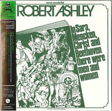 ROBERT ASHLEY-IN SARA MENCKEN. CHRIST AND BEETHOVEN...-JAPAN MINI LP CD G35