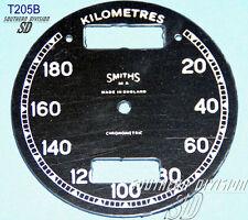 Smith Chronometer 20-180 Km/h Ziffernblatt kph speedo face BSA Norton AJS Rudge