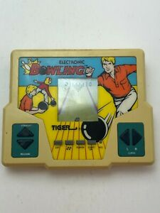 Vintage Electronic Bowling Handheld Game Tiger 1987 Collectibles