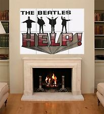 Help the beatles fab quatre liverpool music legends giant art poster X274