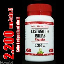 ENVIO URGENTE: CASTAÑO DE INDIAS Dra.Bannister 2.200mg/30cps. Sólo 1 cáp/día!